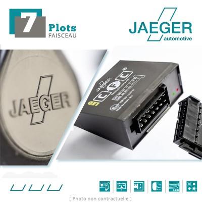 Faisceau d'attelage 7 broches spécifique Dacia SANDERO (Stepway) (2009 - 12/2012) JAEGER Automotive 16620501