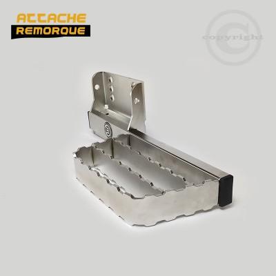 Marche-pied pour les 4x4, pick-up et fourgons avec attelage METEC M888422