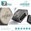 Faisceau d'attelage 7 broches spécifique Dacia DOKKER et EXPRESS (11/2012 - 03/2017) JAEGER Automotive 12620508