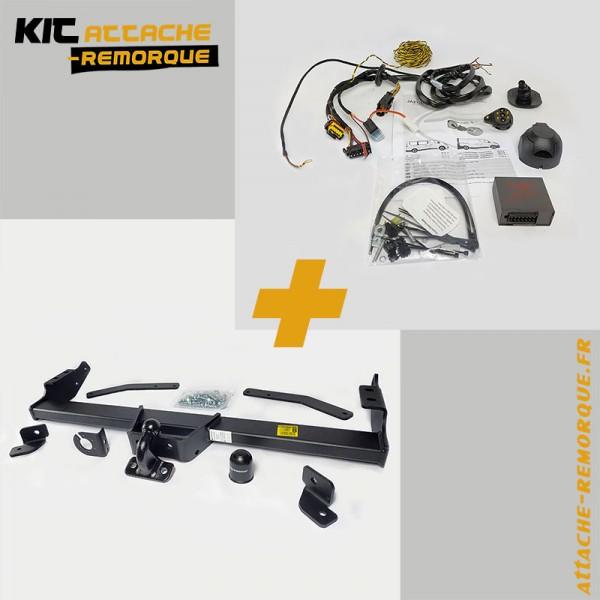 Kit Attache Remorque pour Renault TRAFIC 3 (06/2014 - ) Marque Partenaire R-128-16500610