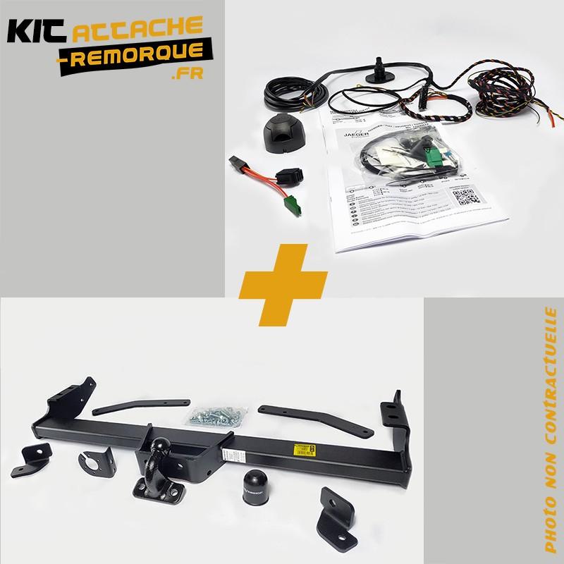 Kit Attache Remorque pour Renault TRAFIC 2 (9/2006 - 5/2014) Marque Partenaire R-127-12500523