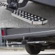 Marche-pied double appui pour un véhicule utilitaire muni d'un attelage METEC M888420