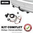 kit attache remorque pour Alfa Romeo GIULIETTA (4/2010 -) BRINK  532110-700231