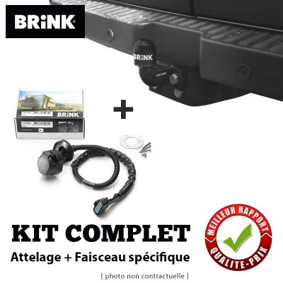 Kit attache remorque BRINK pour Citroën JUMPY 2 (VF7) Monospace (2007 - 2016) BRINK  504100-705673