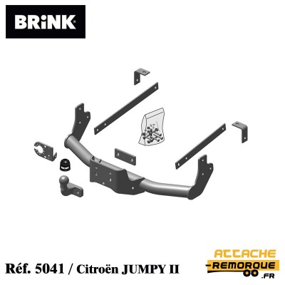 Kit attache remorque BRINK...