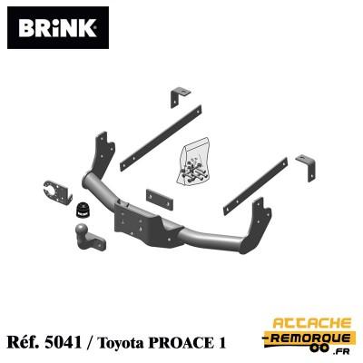 Kit attache remorque BRINK...