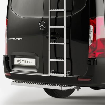Marche-pied arrière pour Mercedes SPRINTER (2007 - 2018) METEC 818648/606