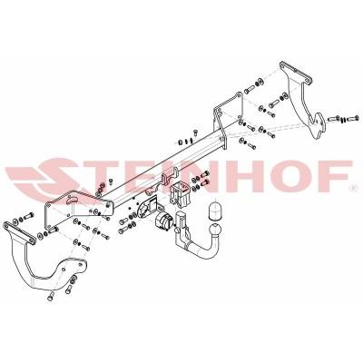 Attelage RDSO pour Opel ZAFIRA LIFE (2019 - ) STEINHOF T-184