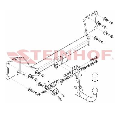 Attelage RDSO pour Audi Q7...