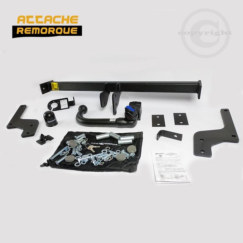 Attelage RDSO pour Dacia DUSTER 1 (2013 - 2018) STEINHOF D-015