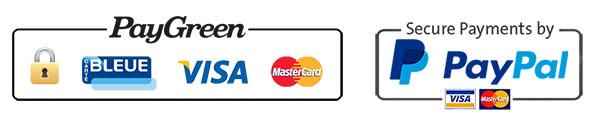 PayGreen & PayPal - Nos systèmes de paiements sécurisés