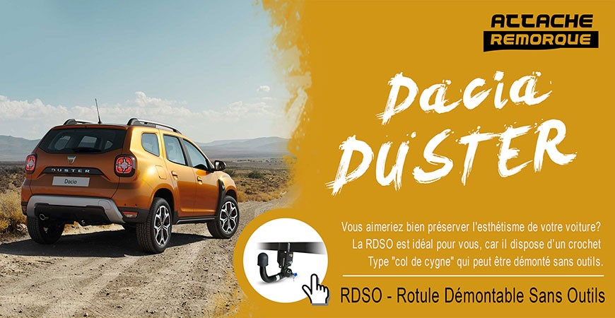 Attache Remorque Dacia DUSTER